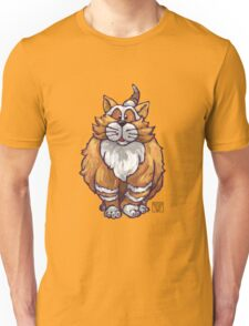 Animal Parade Ginger Cat Silhouette Unisex T-Shirt