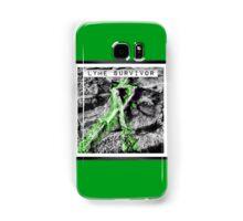 Lyme Disease Survivor Ribbon  Samsung Galaxy Case/Skin