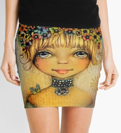 Pretty as a Picture Mini Skirt