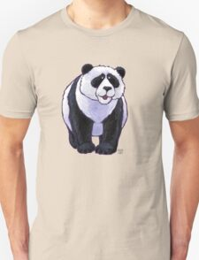 Animal Parade Panda Bear Silhouette Unisex T-Shirt