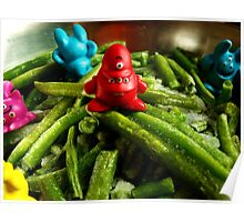 French beans... Poster