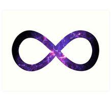 Galaxy Infinity symbol Absolutus Infinitus ∞ Art Print