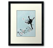 ice skater  Framed Print