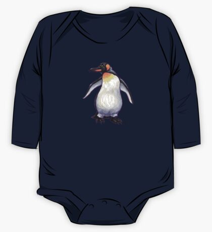 Animal Parade Penguin Silhouette One Piece - Long Sleeve