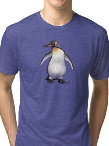 Animal Parade Penguin Silhouette Tri-blend T-Shirt