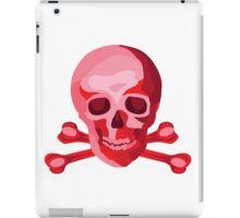 Skulduggery Red on White iPad Case/Skin