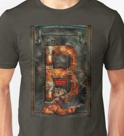 Steampunk - Alphabet - B is for Belts Unisex T-Shirt