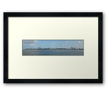 Who's Who Skyline of Mumbai Framed Print