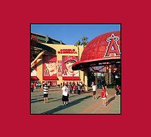 Angels Baseball #1 by don thomas
