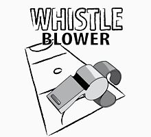 Whistle Blower - Netball Womens Fitted T-Shirt