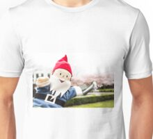 Sakura Fountain Gnome Unisex T-Shirt