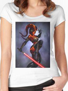 Darth Talon Women's Fitted Scoop T-Shirt