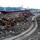 JAPAN  Earthquake, Tsunami scars (3) by yoshiaki nagashima