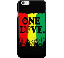 ONE LOVE, PIT BULLS. BY URB SUB iPhone Case/Skin