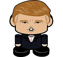 Donald Trump Politico'bot Toy Robot 1.0 Photographic Print