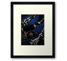 Clarinet Framed Print