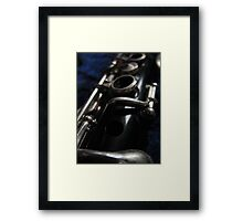 Intimate Detail Framed Print