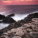 Giant's Causeway - Sunset by Paul McSherry