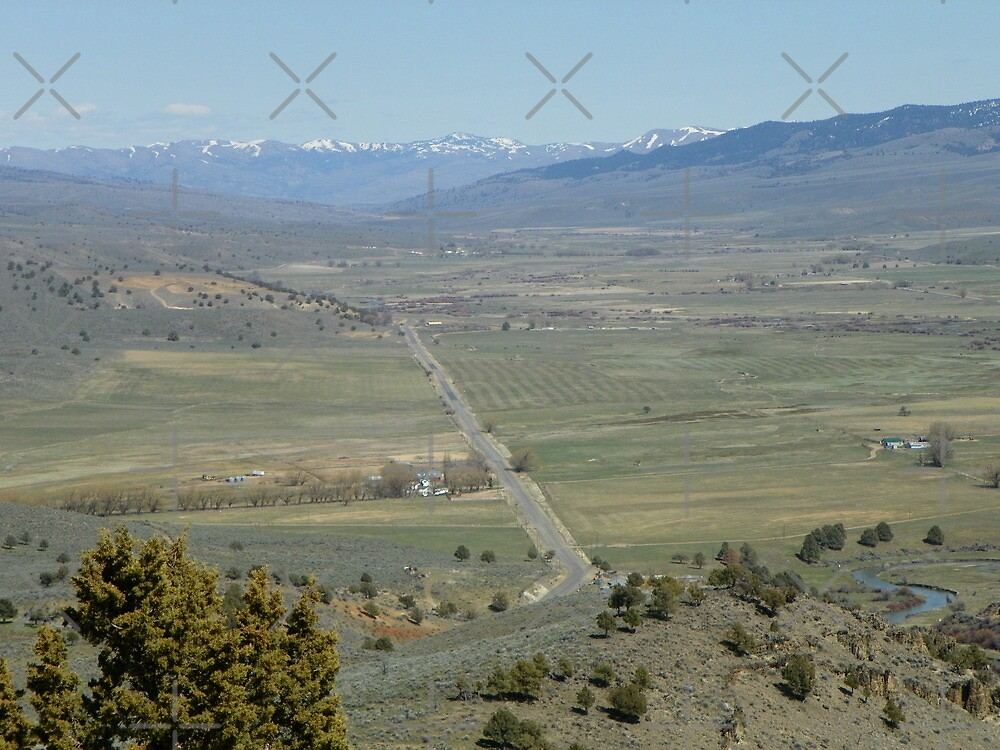 Spring Comes to Burnt River Valley by Betty  Town Duncan