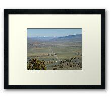 Spring Comes to Burnt River Valley Framed Print