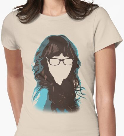 Miss Jessica Day Womens Fitted T-Shirt