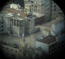 City Roof tops by Tony Eustace