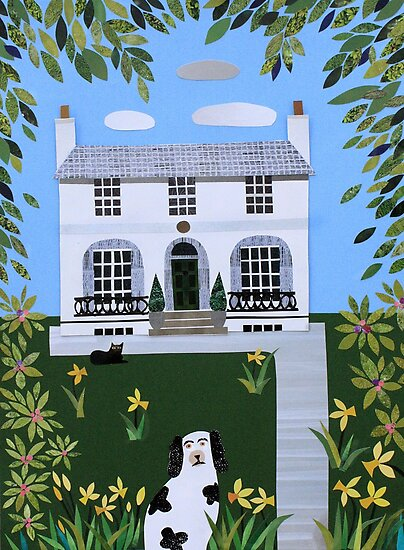 Spring, Keats House, Hampstead by Amanda White