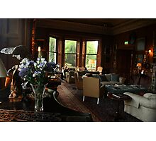 Castle Leslie Drawing Room. Photographic Print