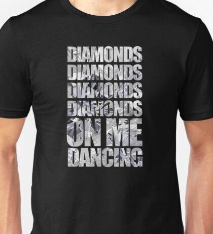 Diamonds On Me Dancing Unisex T-Shirt