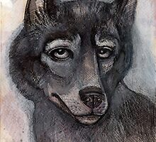 Old Wolf by Lynnette Shelley