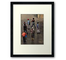 Hats Off Framed Print