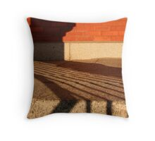 Shadow Patterns Throw Pillow