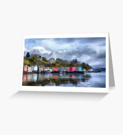 Tobermory, Mull Greeting Card