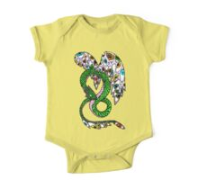 Serpent with Wings of Eyes One Piece - Short Sleeve