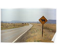 Route 66 - New Mexico Highway Poster