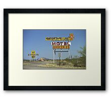 Route 66 - New Mexico Whiting Brothers Gas Framed Print
