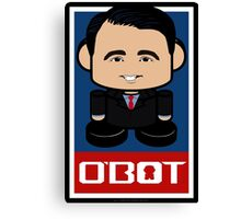 Scott Walker Politico'bot Toy Robot 2.0 Canvas Print