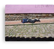 Laneway Lie Canvas Print
