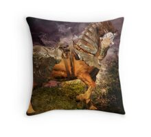Big Max, Dressed To Do Battle Throw Pillow
