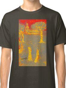 Yellow shadows Classic T-Shirt