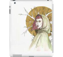 Lady of The Woodlands iPad Case/Skin