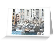 Trevi Fountain, Rome Greeting Card
