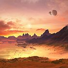 Two Moon Bay - Planet Zirocos by SpinningAngel