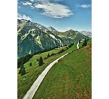 Hiking in Tirol Photographic Print