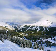 Lake Louise: A Skiier's Perspective by Ryan Davison Crisp