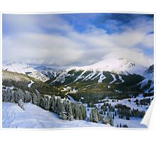 Lake Louise: A Skiier's Perspective Poster