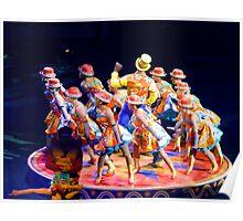 """Circus Performers"" Poster"