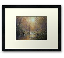 Romantic Woodland Framed Print