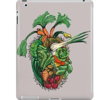 Vegetables are good for your heart iPad Case/Skin