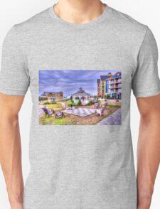 Gazebo at Blue Mountain  Unisex T-Shirt
